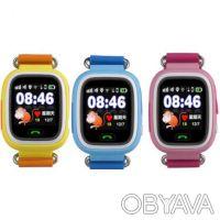 WONLEX !ВИБРО ЗВОНОК! Детские умные часы Q100 GPS трекером и сeнсорным экраном !. Киев. фото 1