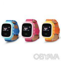 WONLEX ORIGINAL!!!Детские умные часы GPS Q60S с цветным экраном. Киев. фото 1
