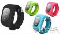 ОРИГИНАЛ WONLEX !!! Детские умные часы Q50 экран OLED ,c GPS все цвета. Киев. фото 1