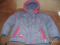 Детская теплая зимняя куртка для мальчика 134 размера в очень хорошем состоянии,. Киев, Киевская область. фото 2