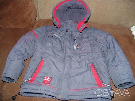 Детская теплая зимняя куртка для мальчика 134 размера в очень хорошем состоянии,. Киев, Киевская область. фото 1
