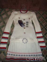 Детский комплект: сарафан и кофта. Киев. фото 1