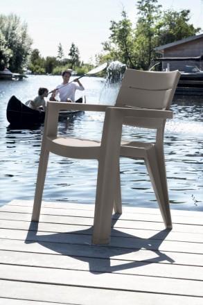 """"""" Садовый стул Ibiza Allibert, Keter, Curver """"  Усядьтесь поудобнее и расслабь. Ужгород, Закарпатская область. фото 3"""