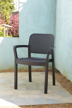""""""" Садовый стул Samanna Allibert, Keter, Curver """"  Усядьтесь поудобнее и рассла. Ужгород, Закарпатская область. фото 2"""