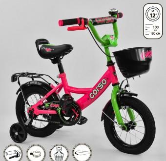 детский велосипед корсо 12