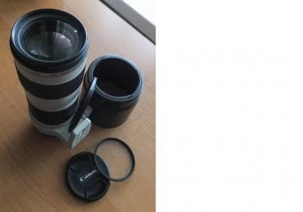 Canon EF 70-200mm F/4L USM. Киев. фото 1