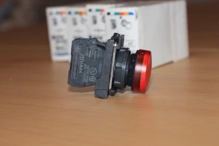 XB5 AVM4 Сигнальная лампа красная, производство Schneider Electric Описание: С. Киев, Киевская область. фото 8