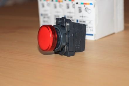 XB5 AVM4 Сигнальная лампа красная, производство Schneider Electric Описание: С. Киев, Киевская область. фото 7
