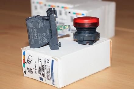 XB5 AVM4 Сигнальная лампа красная, производство Schneider Electric Описание: С. Киев, Киевская область. фото 4