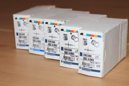 XB5 AVM4 Сигнальная лампа красная, производство Schneider Electric Описание: С. Киев, Киевская область. фото 2