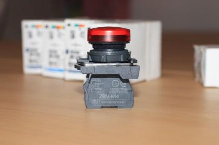 XB5 AVM4 Сигнальная лампа красная, производство Schneider Electric Описание: С. Киев, Киевская область. фото 5