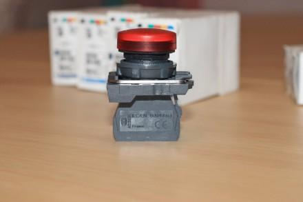 XB5 AVM4 Сигнальная лампа красная, производство Schneider Electric Описание: С. Киев, Киевская область. фото 6