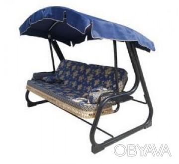 Особенности:VIP диван-качель, мягкая часть которой пошита из высококачественного. Киев, Киевская область. фото 1