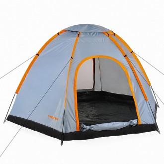 Палатка туристическая Treker МАТ-111 (шестиместная). Киев. фото 1