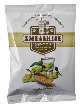 Дрожжи «Хмельные» сухие для изготовления напитков 100грамм. Киев. фото 1