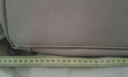 Женская сумка Gilda Tohetti бежевая. Фирма Gilda Tohetti основана в 1970 году, д. Днепр, Днепропетровская область. фото 4