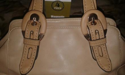 Женская сумка Gilda Tohetti бежевая. Фирма Gilda Tohetti основана в 1970 году, д. Днепр, Днепропетровская область. фото 3