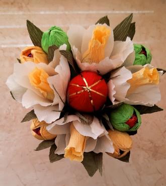 букет из конфет ручной работы. Черноморск (Ильичевск). фото 1