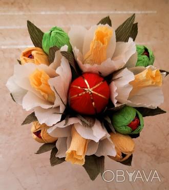 Кто не успел придумать или купить подарок к Пасхе, есть отличная идея - сладкий . Черноморск (Ильичевск), Одесская область. фото 1