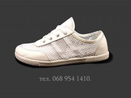 8ab95059 Кроссовки женские летние, белые, для бега, в сетку. Размер 36-40. 200 ГРН.  Хмельницкий