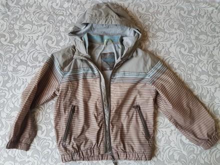 Легкая куртка-ветровка с капюшоном для мальчика Zara Kids. Киев. фото 1
