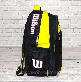 94fa77c035e7 Вместительный рюкзак Wilson отлично подойдет для школы, занятий спортом.  Размер:. Первомайський,