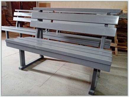 Скамейка для сада или дачного участка из натурального дерева. Специальная защитн. Ирпень, Киевская область. фото 2