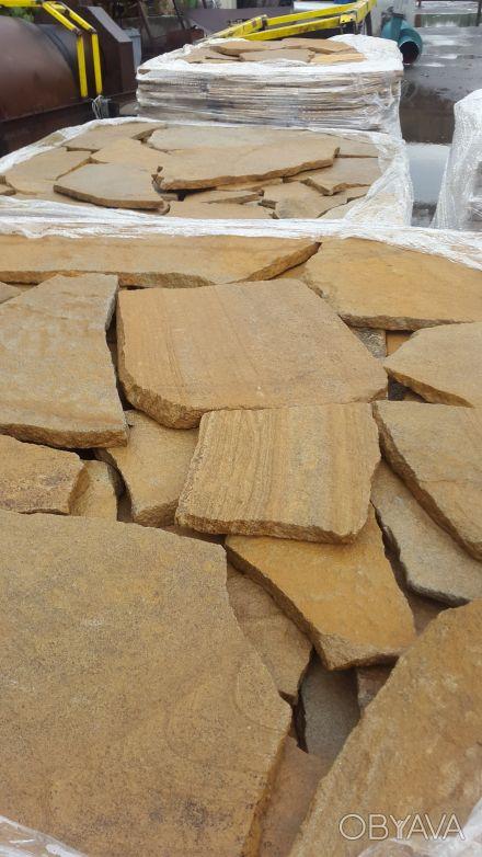 Песчаник очень широко распространен в строительной отрасли в качестве облицовочн. Киев, Киевская область. фото 1