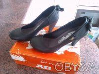 Туфли женские XTi чёрные. Размер - 38.. Киев. фото 1