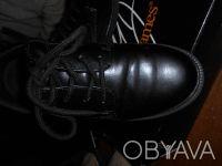 Черные туфли на шнуровке,в отличном состоянии,куплены в США. Отправляю УкрПочто. Київ, Київська область. фото 3
