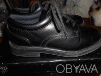 Черные туфли на шнуровке,в отличном состоянии,куплены в США. Отправляю УкрПочто. Київ, Київська область. фото 6