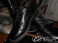 Черные туфли на шнуровке,в отличном состоянии,куплены в США. Отправляю УкрПочто. Київ, Київська область. фото 10
