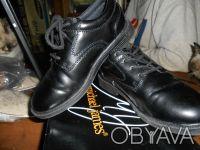 Черные туфли на шнуровке,в отличном состоянии,куплены в США. Отправляю УкрПочто. Київ, Київська область. фото 5