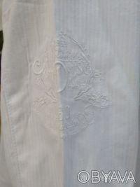 Красивая , нарядная и практичная белая рубашка с длинным рукавом и отложным воро. Белая Церковь, Киевская область. фото 4