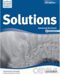 Продам Solutions Advanced - Workbook Second Edition с CD диском. Харьков. фото 1