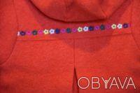 Очень красивое и нежное пальто для девочки фирмы Du Pareil au Meme (DPAM) Франци. Киев, Киевская область. фото 6