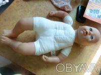Пупс длиной 45см в отличном состоянии, голова ноги и руки резиновые, на четырех . Киев, Киевская область. фото 5