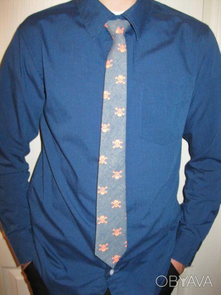 Рубашка OLD NAVY Галстук + рубашка Размер XL 55% cotton 45% polyester Длина. Кривий Ріг, Дніпропетровська область. фото 1