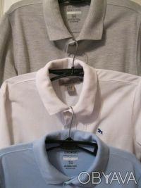 Поло GEORGE - голубое и серое(короткий рукав)  Поло H&M белое(короткий рукав) . Кривой Рог, Днепропетровская область. фото 2