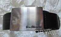 Ремень пояс черный кожаный Ben Sherman (S). Полтава. фото 1