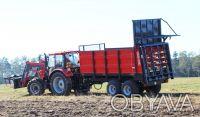 Розкидач органічних добрив вантажною ємністю 8 т.  Шасі типу тандем, оснащений. Хмельницкий, Хмельницкая область. фото 5