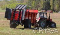 Розкидач органічних добрив вантажною ємністю 8 т.  Шасі типу тандем, оснащений. Хмельницкий, Хмельницкая область. фото 6