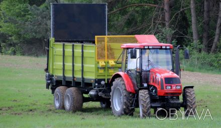 Розкидач органічних добрив вантажною ємністю 8 т.  Шасі типу тандем, оснащений. Хмельницкий, Хмельницкая область. фото 1