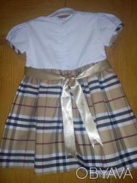 Очень красивое платьице для маленькой модницы с натуральным хлопковым подъюбнико. Сновск (Щорс), Черниговская область. фото 3