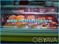 Холодильное оборудование: витрины, шкафы, лари, регалы - новые и б/у.. Донецк. фото 1