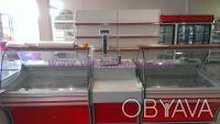 Холодильное оборудование. Холодильные витрины, боннеты, регалы.. Донецк. фото 1