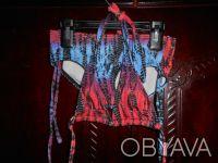 1) купальник на 18-24 мес,шорты и лиф,лиф на подкладке,шлейки регулируются,шторк. Киев, Киевская область. фото 4