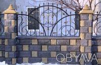 Заборные Блоки,Крышки,Парапеты...вибропрессованные,цены от производителя,доставк. Киев, Киевская область. фото 8