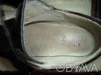 Продаю детские туфли осень-весна черные лаковые в хорошем состоянии размер стель. Киев, Киевская область. фото 4