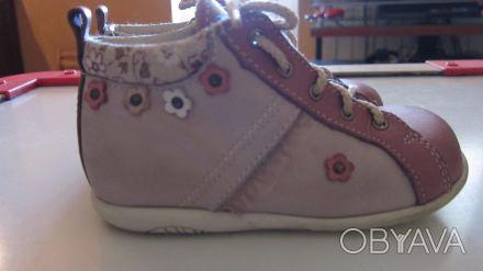 Ботинки Bopy, 23р., 14 см по стельке. Привезены с Франции, носили этой весной, б. Чернигов, Черниговская область. фото 1